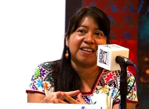 """Hay que poner en la agenda a las mujeres indígenas"""": Zenaida Pérez, activista ayuujk."""