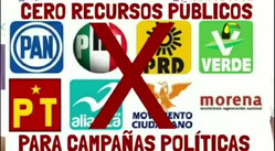 #fuerzamexico #CeroDineroALosPartidos #MexicoNosNecesita INE México TEPJF  ¡Apoyemos esta iniciativa!