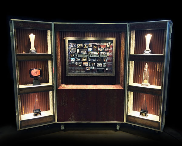 Florida Georgia Line's Custom Award Display Case