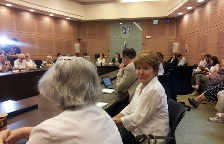 Advocating at Knesset