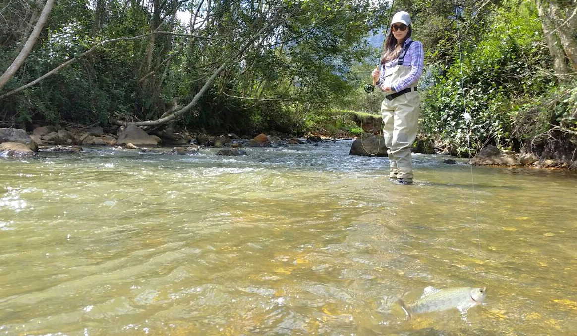 fly fishing south america