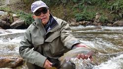 River fly fishing Ecuador