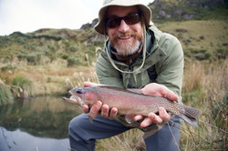 Fly fishing in Ecuador