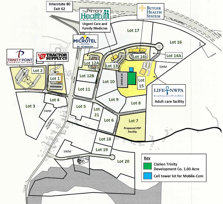 Trinity Point Map