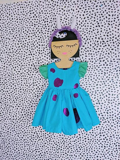 sully inspired girl costume & headband