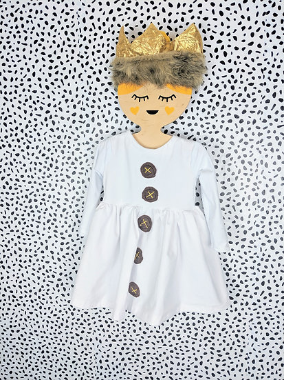 where the wild things areinspired dress & crown & tail