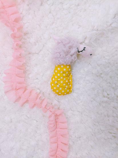 spotted llama baby doll