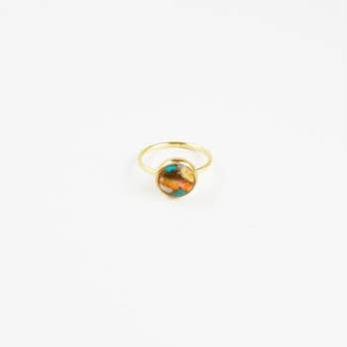 Turquoise Oyster Ring