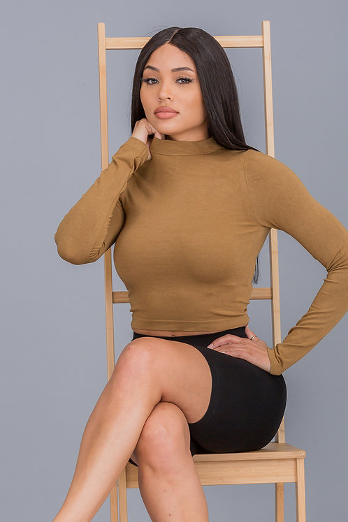 Cropped Butter Top