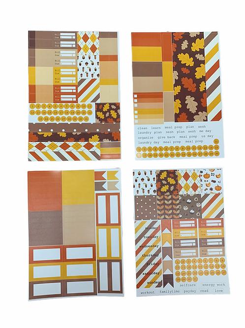 Fall/Winter Sticker Kits