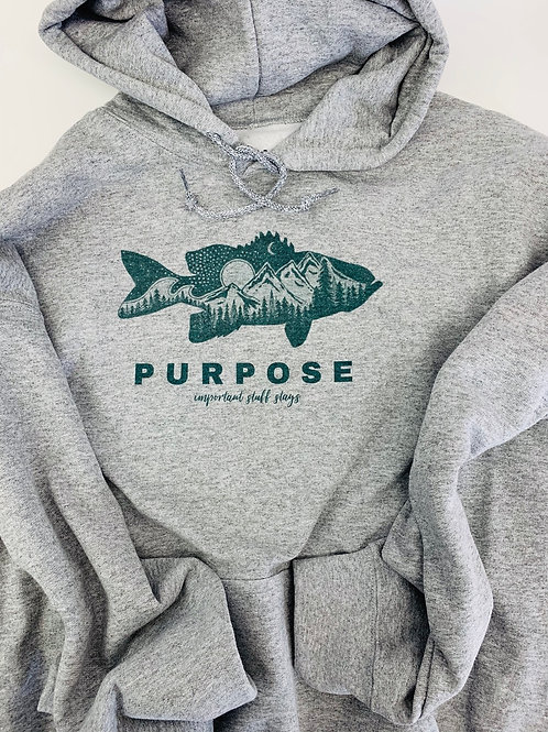 Adult PURPOSE Bass Hoodie