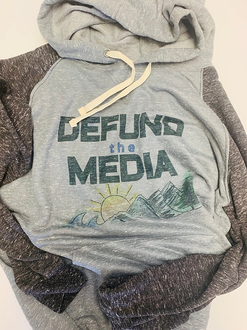 Defund the Media Hoodie