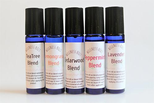 The Fab Five Wellness Oils
