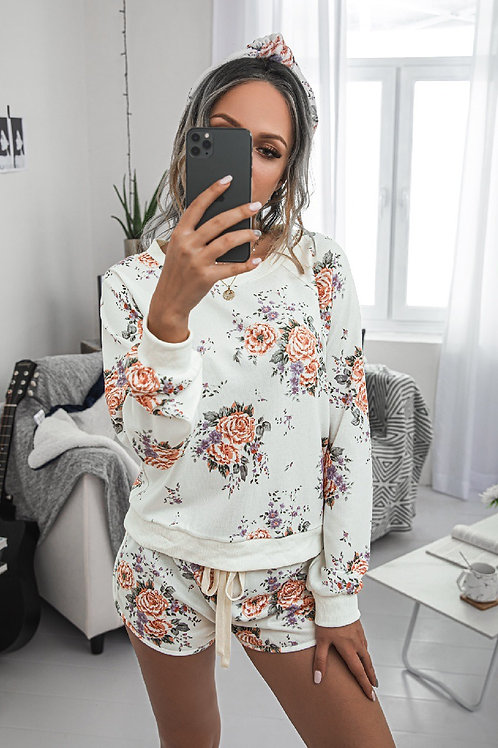 Floral Jammies Set