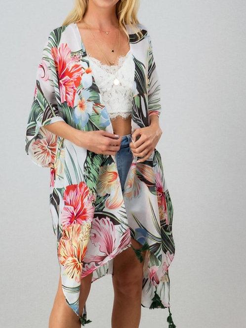 Palms Kimono