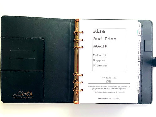 Rise and Rise Again MAKE IT HAPPEN Monthlies+Journal