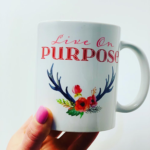 Live On Purpose Mug