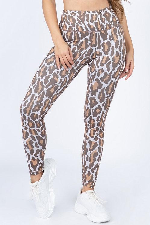 Teal Cat Leggings