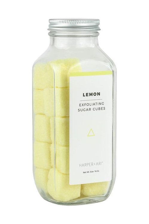 Exfoliating Lemon Sugar Cubes