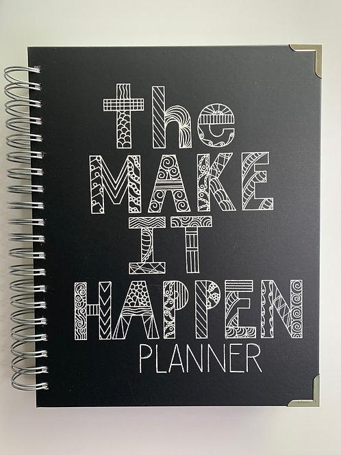 The MAKE IT HAPPEN Planner, Chalkboard