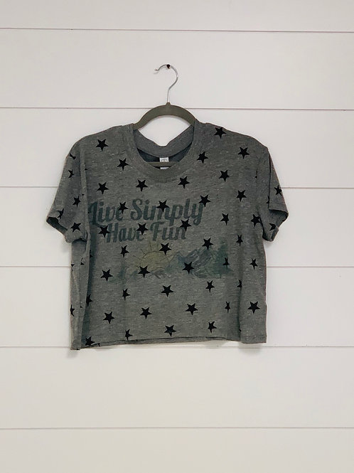 Star Simply Cropped Tee