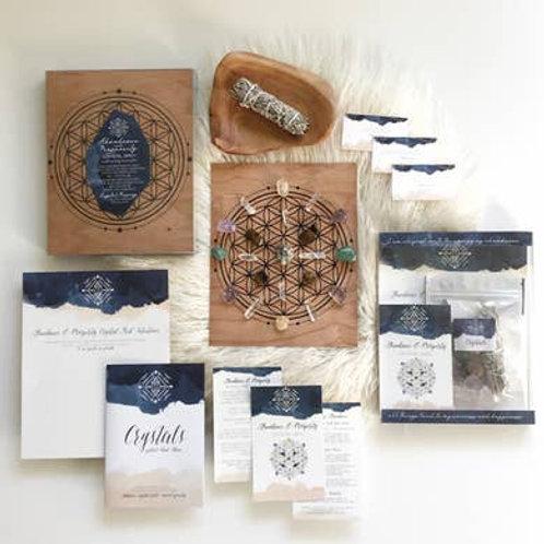 Crystal Grid Ritual Kit