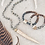 Thumbnail: Deer Antler Gemstone Bracelet