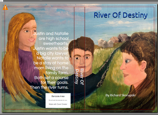 Cover Art ~ River Of Destiny Thank you Cheryl Skorupski for the great painting!