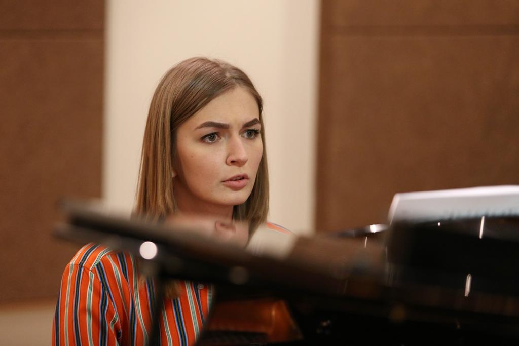 В. Есауленко. Репетиция