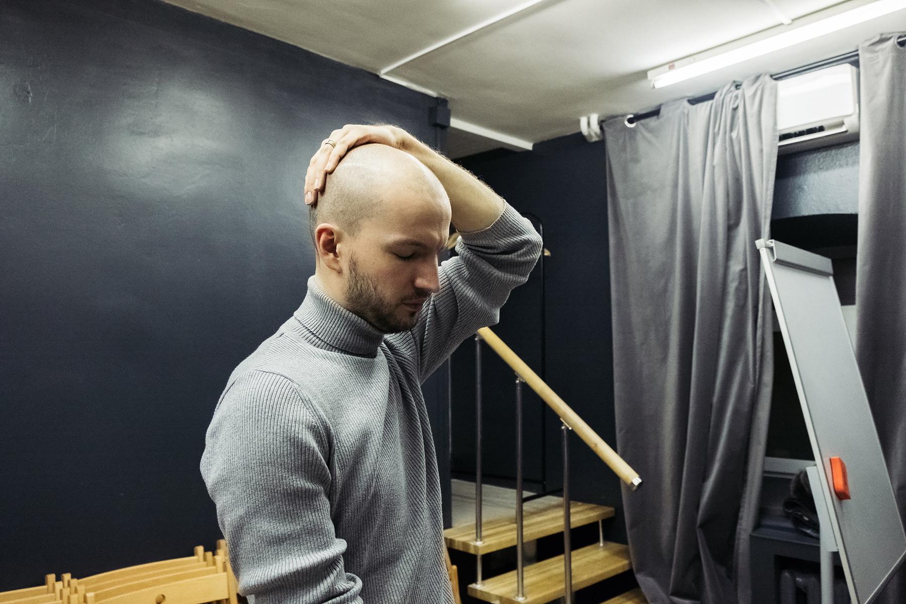 Александр Лимин. Репетиция