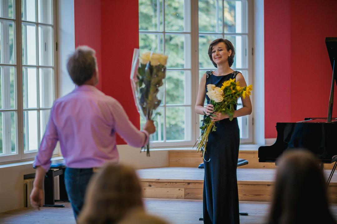 Третий концерт цикла. Е. Тарасова