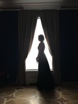 Е.Тарасова перед началом концерта