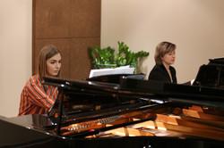 В. Есауленко, Е. Тарасова. Репетиция