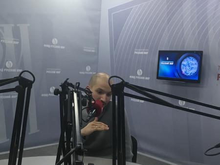 """OPUS 2 на радио """"Русский Мир"""". Интервью."""
