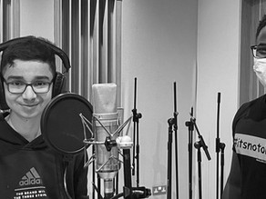 Daniel Heads to the Recording Studio