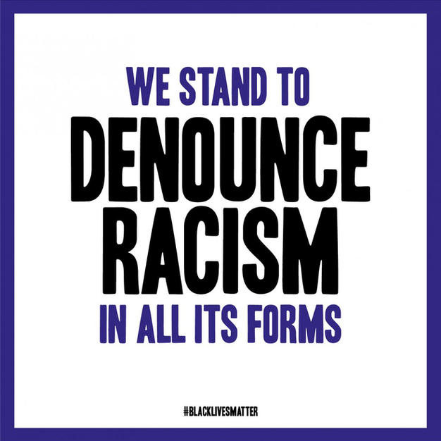 We Stand To Denounce Racism