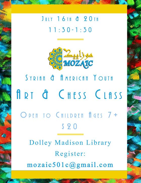 Art & Chess Class