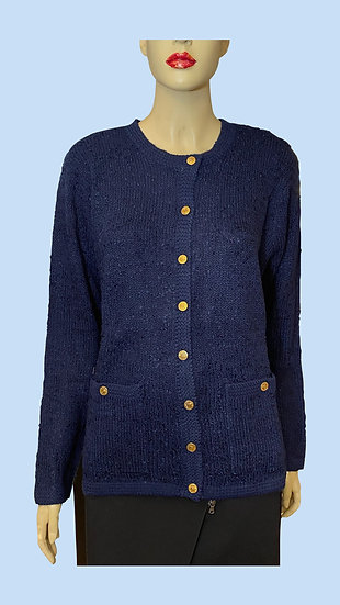 Sweater- Blair gold tone buttons.  Size M. 100% acrylic.