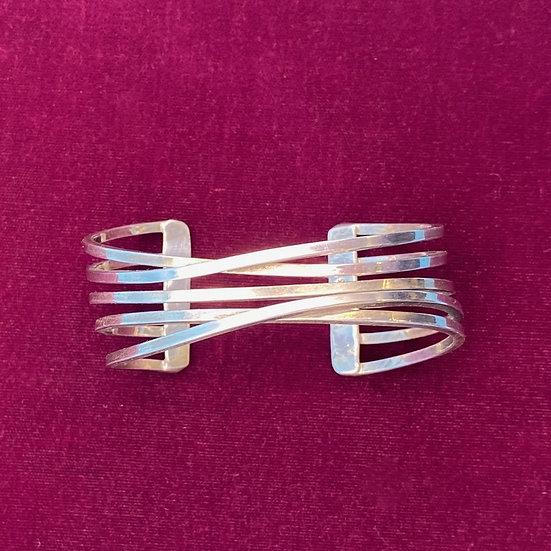 Bracelet- Sterling silver/Mexico unisex.