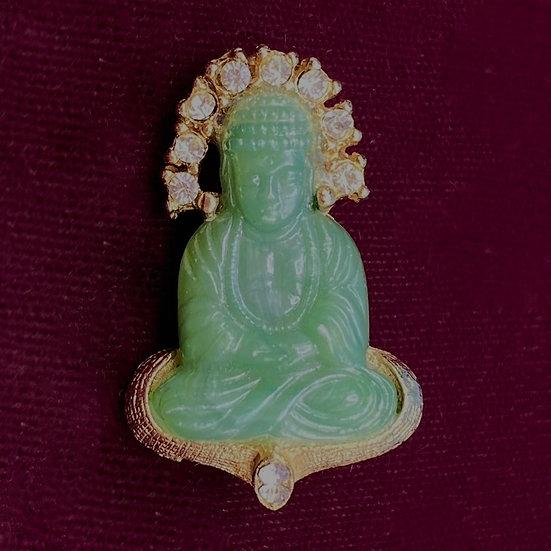 Pin- Jadeite Buddha
