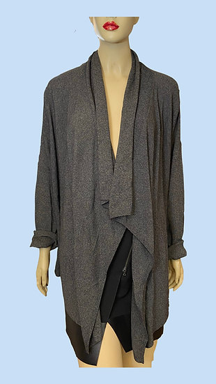 Throw/Jacket- Grace Dane Lewis. Size Woman 3X, 63% Rayon 37% Nylon.