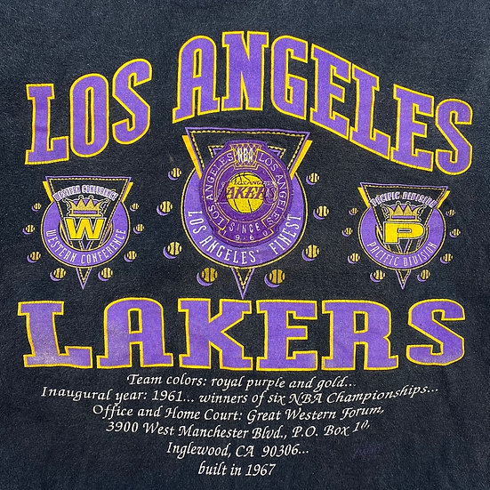 T shirt- X Large/used /Los Angeles Lakers.  Condition -Loved.