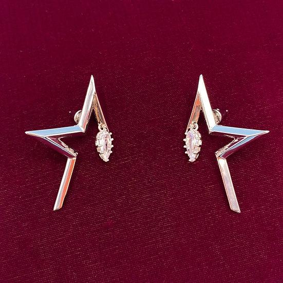 Earrings- Pierced/ Signed Eddie Borgo.