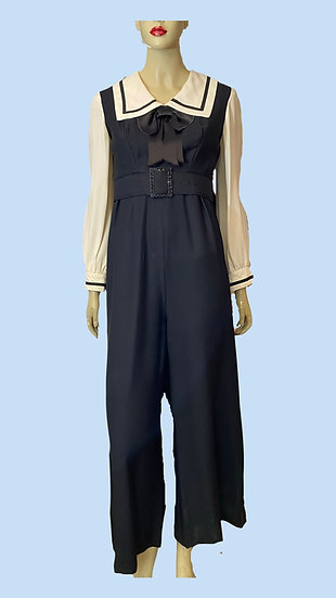 Jumpsuit- Futura Couture of New York. Size S.
