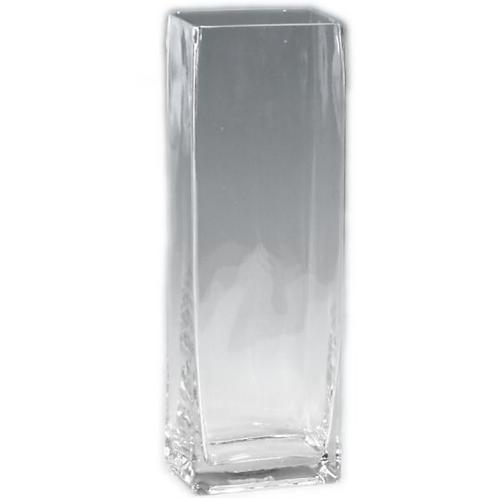 "Tall Square Vase 12"""