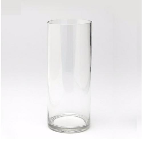 """Glass Cylinder Vase 14"""""""