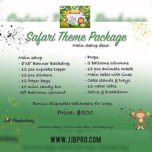 Safari Theme Package