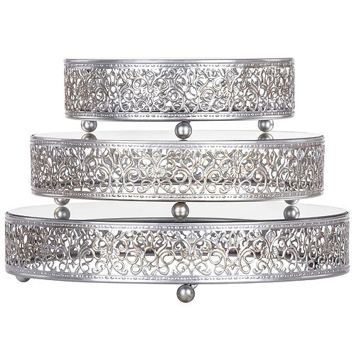 Cake Stand Silver  set