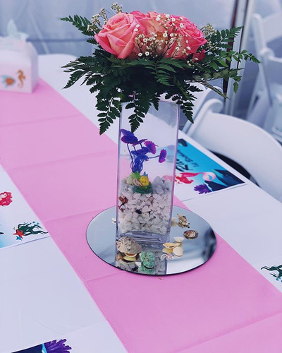 Centerpiece by us. _Rashel 1st Birthday