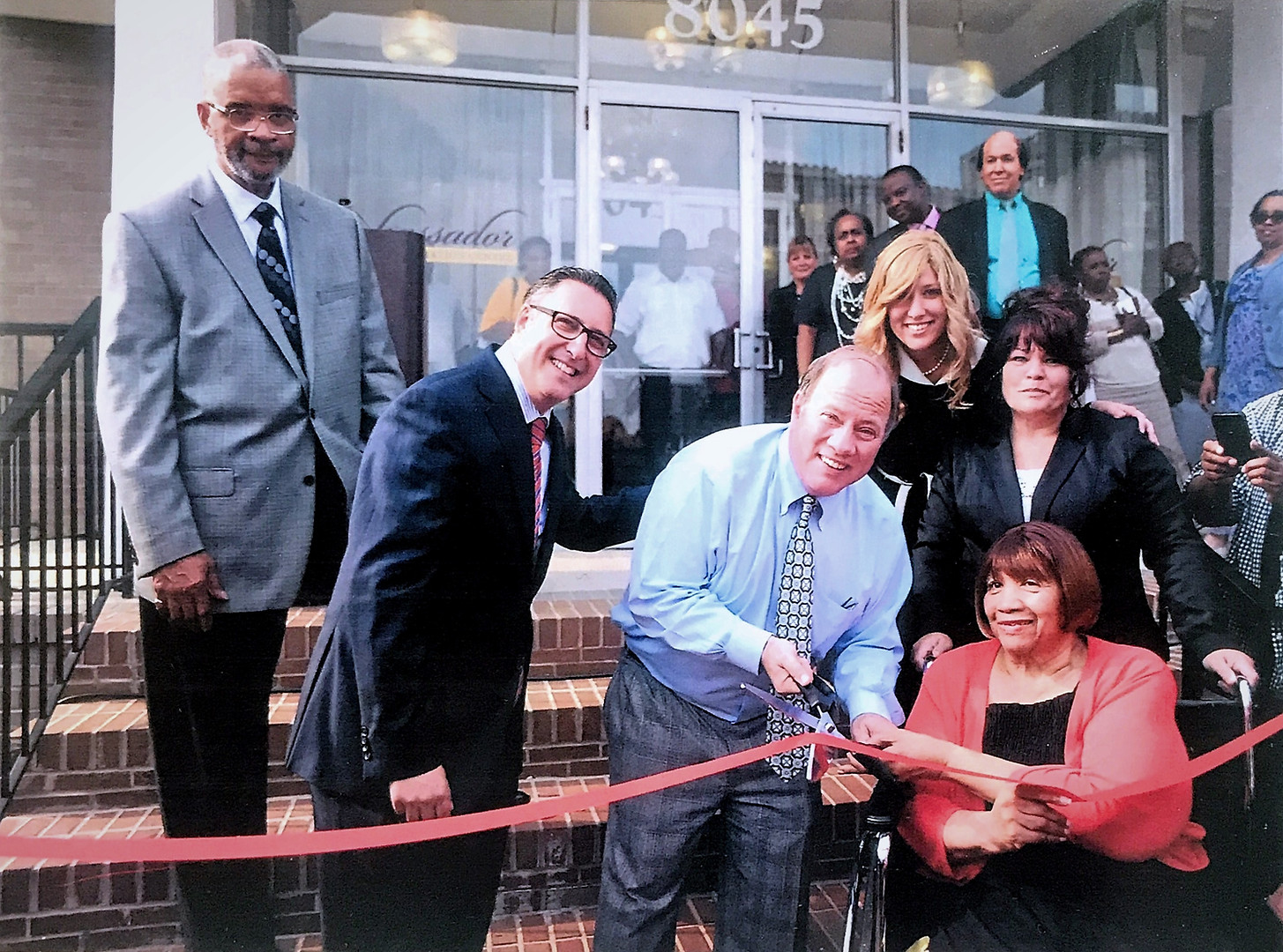 Mayor Mike Duggan of Detroit at the Ambassador Open House